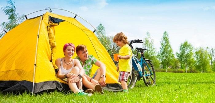 Camping mit Kindern und Babys