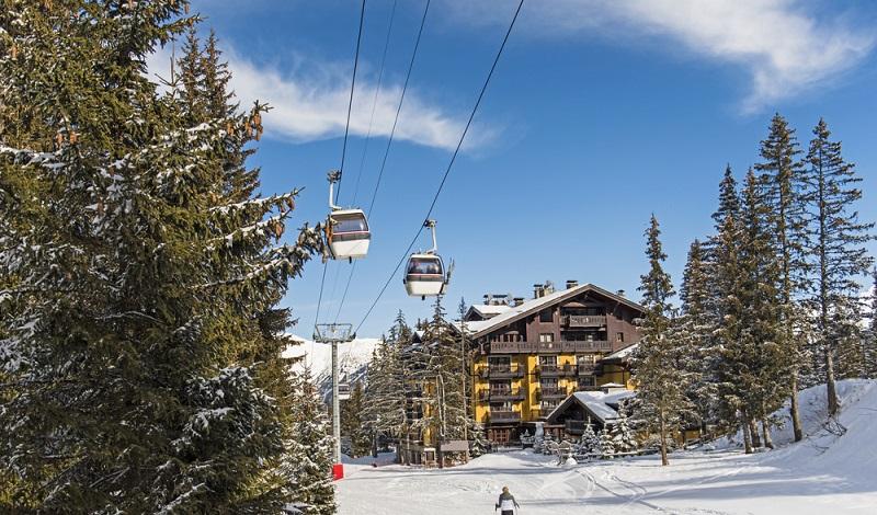 Aus der Ferienwohnung direkt in die Gondel einsteigen: Der Traum eines jeden Skifans. (#1)