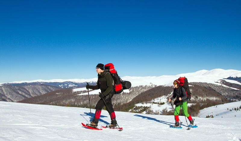 Viele Panoramawege in der Auvergne sind im Winter nur mit Schneeschuhen begehbar. (#2)