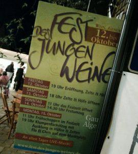 Das Fest des jungen Weines in Gau-Algesheim.
