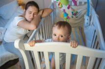 Das Baby will nicht schlafen: Woran es liegt und was Sie tun können