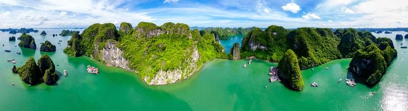 Wer Weltreisen wie die nach Vietnam günstiger haben möchte, kann auch sparen, indem ein Hin- und Rückflugticket statt zweier One-Way-Tickets gebucht wird.