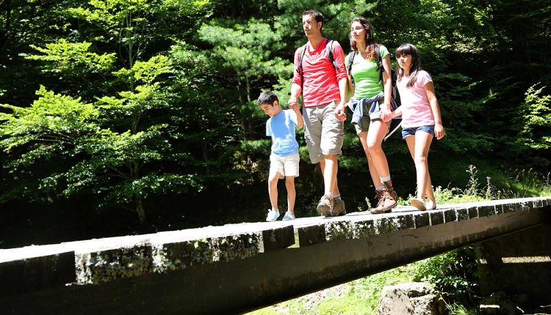 Bieten Sie Ihren Kids Abenteuer und Abwechslung, aber überfordern Sie sie nicht mit einem übertriebenen Schwierigkeitsgrad.