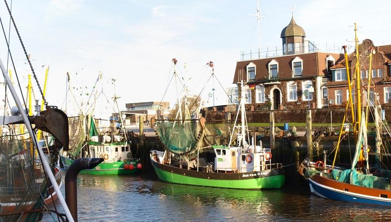Gerade einmal 963 leben in Neuharlingersiel, dem beschaulichen Örtchen an der Nordseeküste. Der Ort mit seinem idyllischen kleinen Hafen, der sich typisch norddeutsch mit seinen Kuttern verschiedener Größe angemessen präsentiert.