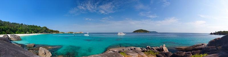 Meist sind die Similan Islands von Mitte Oktober bis Mitte März geöffnet.