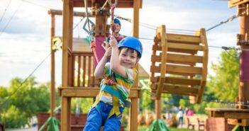 Abenteuerspielplatz: Ein Erlebnis für Groß und Klein ( Foto: Shutterstock- Pavel Kobysh)