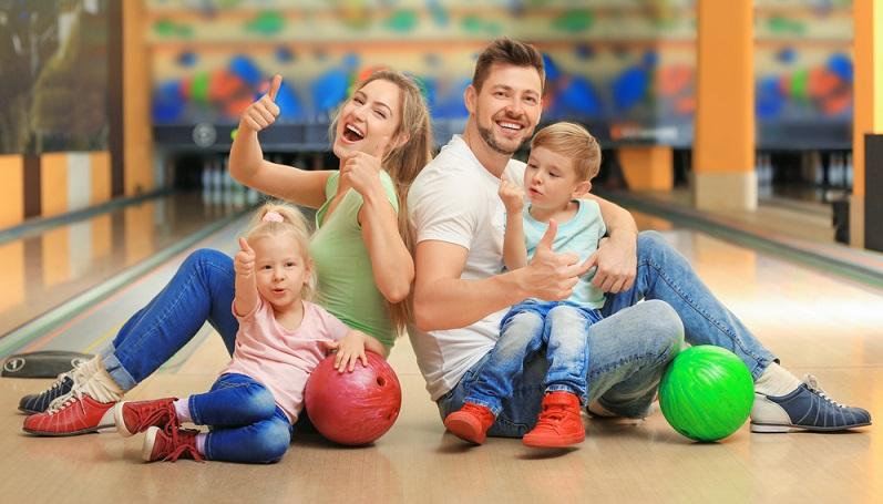 Bowling-Spaß für die ganze Familie