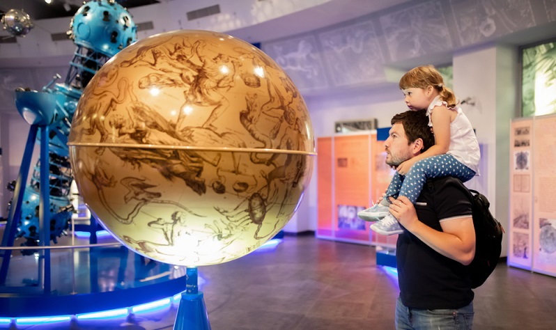 Wie wäre es denn mal wieder mit einem Besuch im Planetarium?