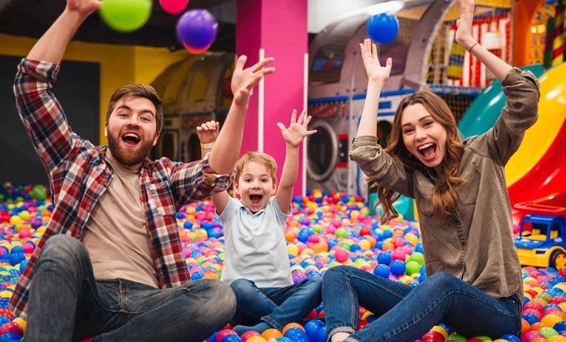 Indoorspielplatz eine tolle Idee für die ganze Familie und für den ganzen Tag.
